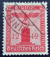 Allemagne Germany Deutschland 1938 Service Avec Filigrane With Watermark Yvert 111 O Used - Dienstpost