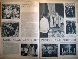 Kardinaal Van Jozef Van Roey Zestig Jaar Priester (12.09.1957) Koekelberg - Vorselaar, Mechelen - Revistas & Periódicos