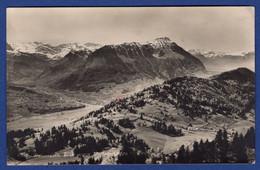 Stanserhorn Mit Blick Gegen Wolfenschiessen, Gelaufen Feldpost (aa4007) - NW Nidwalden
