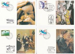 Kunstkarte Mit Offiziellem UNO- Erinnerungsstempel - Sin Clasificación