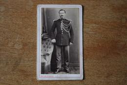 Cdv GENDARME Second Empire  RIDEAU À CHERBOURG - Guerra, Militari