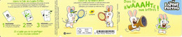 Bande Carnet Vide Bc1885 2020 Lapins Crétins - Commemorrativi