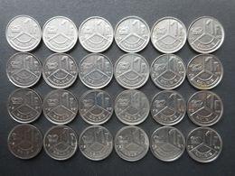 Belgium 1 Franc 1989-1993 (Lot Of 24 Coins) (KM# 171) - 04. 1 Franc