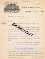 96 0030 MONTRÉAL CANADA 1911 Place VIGER HOTEL  Canadian Pacific Railway Dest Mrs MONNET & Cie - Canadá