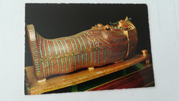 CPM NON CIRCULEE - CAIRO - THE SECOND COFFIN OF TUT ANKH AMUN OF GOLD AND SEMI PRECIOUS STONES - El Cairo