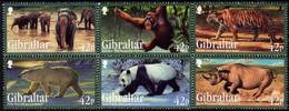 Gibraltar - 2011 - Endangered Animals I - Mint Stamp Set - Gibraltar