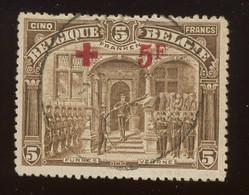 5 Fr. 162. Ø.bon Exemplaire Cote 285,-€ - 1918 Red Cross