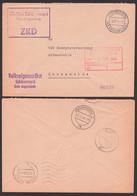 Volkseigenes Gut Schönermark (Kr. Angermünde) ZKD-Brief Mit R3 5.2.64 Nach Eberswalde - Service