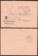 Nünchritz PSSt. Riesa, ZKD-Brief Mit R4 10.7.68, VEB Chemiewerk - Service