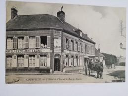 COURVILLE  L Hôtel De L Ecu Et La Rue De Nantes - Andere Gemeenten