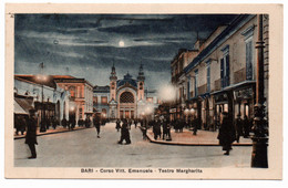BARI Corso Vittorio Emanuele - Teatro Margherita - Bari