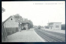 Cpa Du 95  Montsoult  Les Quais De La Gare   NOV20-21 - Montsoult