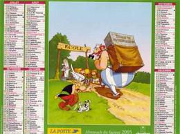 CALENDRIER 2005 ASTERIX Et OBELIX Goscinny Et Uderzo - Formato Grande : 2001-...