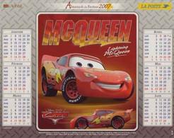 CALENDRIER 2007 CARS DISNEY PIXAR Mc Queen Et Doc Hudson - Tamaño Grande : 2001-...