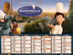 CALENDRIER 2010 RATATOUILLE Et NEMO Disney Pixar - Tamaño Grande : 2001-...