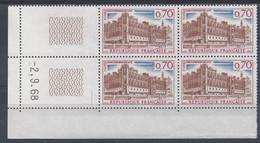 ST-GERMAIN En LAYE N° 1501 - Bloc De 4 COIN DATE - NEUF ** - 2/9/68 1 Trait - 1960-1969
