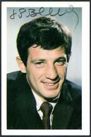 E3863 - TOP Jean Paul Belmondo - Orig. Autogramm Autogrammkarte - Autografi
