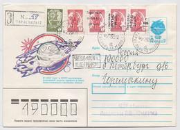 Moldova Cover Mail 1993 R-letter Tiraspol Transnistria PMR OVERPRINT - Moldavia