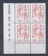CIAPPA Et KAVENA N° 4770 - Bloc De 4 COIN DATE - NEUF SANS CHARNIERE - 10/02/15 - 2010-....