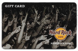 Hard Rock Cafe, U.S.A., Gift Card For Collection, No Value, # Hardrock-1 - Gift Cards
