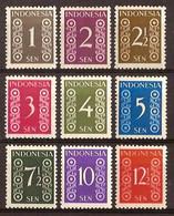 Indonesië / Indonesia 1949 Nr 15/23 Ongebruikt/MH Cijfer - Indonesien