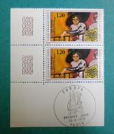 F 1975/ Neuf**/ YT 1841 / Europa, Femme à La Balustrade, Van Dongen / Cdf,  Obl PJ 26/04/1975 Sur Bdf - Ongebruikt