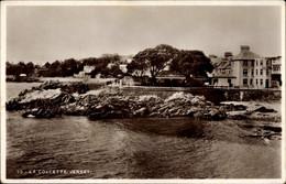 CPA Jersey Kanalinseln, La Collette, Küstenabschnitt - Other