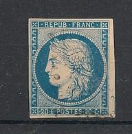 Colonies Générales - 1871 - N°Yv. 12 - Cérès 20c Bleu - Oblitéré / Used - Ceres