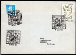 España - 1994 - Carte - Lettre - Cachet Spécial - Tournois - Thème Des échecs - Ajedrez - Chess - A1RR2 - Scacchi