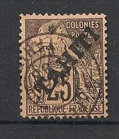 Tahiti - 1893 - N°Yv. 15 - Alphée Dubois 25c Noir Sur Rose - Oblitéré / Used - Used Stamps