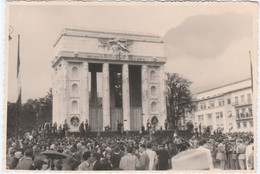9886 Eb. Foto Bolzano  Adunata Nazionale Alpini  3.ottobre.1949 - 14x9,5 - Guerra, Militari