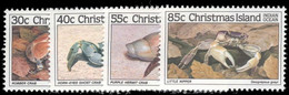 Christmas Island 1985 Crabs 1st Issue Unmounted Mint. - Christmas Island