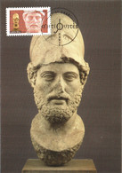 Carte Maximum YT 4011, Antiquité Grecque, 1er Jour 27 01 2007 Paris 75 TBE Tête De Périclès, Le Louvre - 2000-09