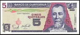 ♛ GUATEMALA - 5 Quetzales 22.11.2006 UNC P.106 B - Guatemala