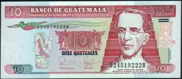 ♛ GUATEMALA - 10 Quetzales 25.08.2006 UNC P.111 A - Guatemala