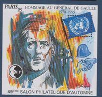 CNEP-1995-N°21** GENERAL DE GAULLE.Salon Philathélique De PARIS. - CNEP