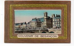 25 - Souvenir De BESANÇON - Carte à Volet Contenant Un Livret Photos (X131) - Besancon