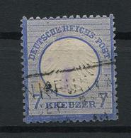 Deutsches Reich: Kleiner Brustschild 7 Kr. Mi. 10 Gestempelt / Used / Oblitéré - Usati