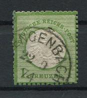 Deutsches Reich: Großer Brustschild 1 Kr. Mi. 23 Gestempelt / Used / Oblitéré - Usati