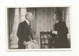Photographie , Cinéma , RETOUR DE FLAMME ,film Français 1943 , Célébrité , R. St Cyr Et A, Brulé ,100 X 65 Mm - Beroemde Personen