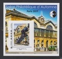 CNEP-2017-N°76** GARE MONTPARNASSE .Salon Philathélique De PARIS - CNEP