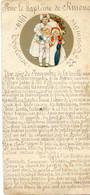 Faire Part Du Baptême De Simone - Toulouse Le 22 Novembre 1914 - Entierement Manuscrit - Nacimiento & Bautizo