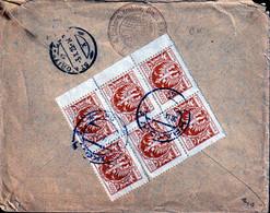 POLAND 1923 Registered Cover KRAKOW To St MORITZ Switzerland 30.IX.23 - Briefe U. Dokumente