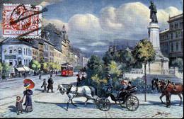 POLAND 1924 Postcard 100,000 Mk Not Genuine Use - Cartas