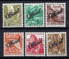 SUISSE Service 1942: Lot De Neufs* - Dienstzegels