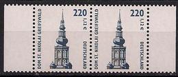 2001 Allem. Fed. Deutschland  Mi. 2157 **MNH  Paar    Sehenswürdigkeiten:Dom St. Nikolai, Greifswald - Ongebruikt