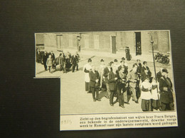 """Origineel Knipsel ( 8984 ) Uit Tijdschrift """"  De Stad """"  1934 :   Ramsel - Unclassified"""