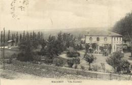 MAZAMET  Villa Excelsior Recto Verso - Mazamet