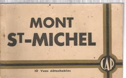 Cp, 50 , MONT SAINT MICHEL , Ed. Cap - Mlle Huet, CARNET DE 10 CARTES POSTALES - Le Mont Saint Michel