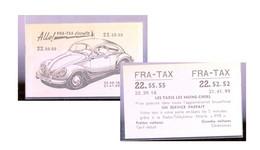 VW Coccinelle  Fra-tax - Publicidad